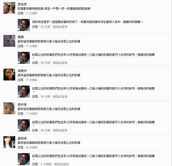 粉絲團破兩千留言03