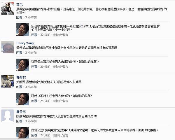 粉絲團破兩千留言11