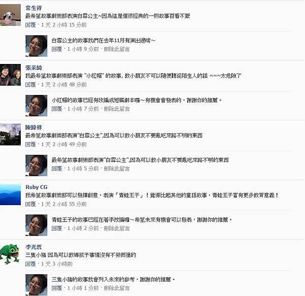 粉絲團破兩千留言25