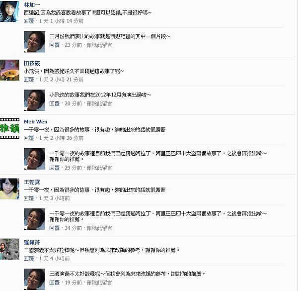 粉絲團破兩千留言50