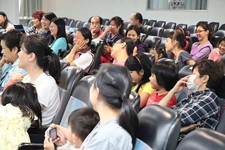 開心的觀眾
