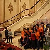 觀眾與演員拍照
