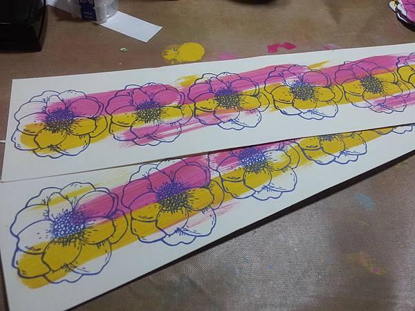 『春天的花』ATC交換活動