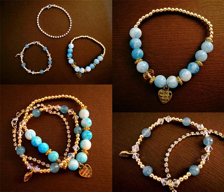 Handmade by BubuStyle --- 限量版套裝組合手環2