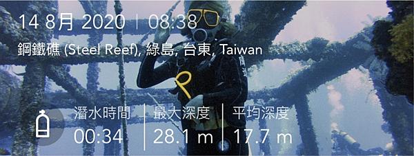 綠島 鋼鐵礁 潛水錶紀錄.png