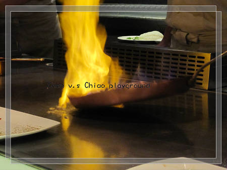 主餐 - 白蘭地鴨胸 起火了