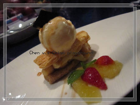 甜點 - 蔓諾地蘋果派