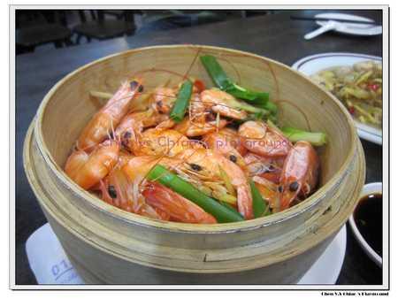 白灼燙鮮蝦