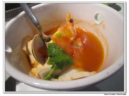 蕃茄海鮮湯-內