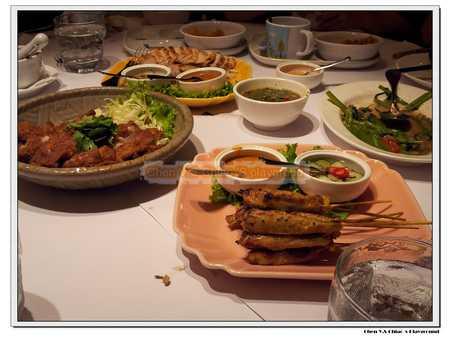椒麻雞烤肉串
