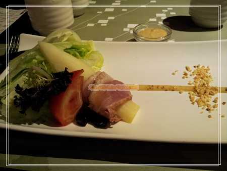茭白筍田樂沙拉