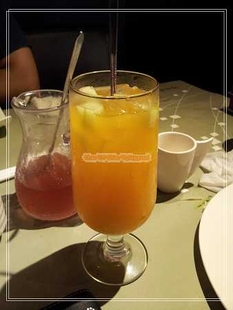 蜜瓜芒果茶