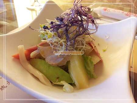 煙燻里肌生菜沙拉