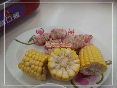 玉米、魚冊