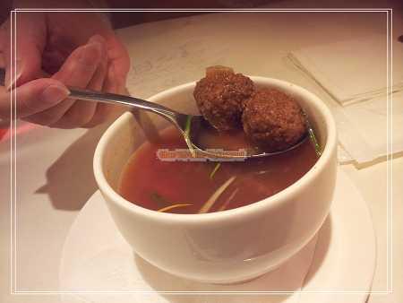 義式蔬菜牛肉丸湯