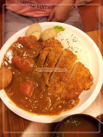黃金豬排咖哩飯