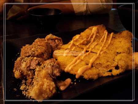 香酥雞肉捲&日式炸豬排