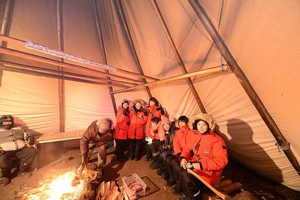 原住民帳篷