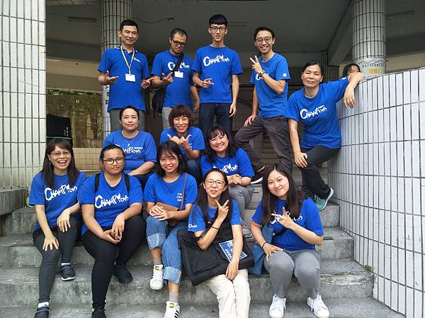 充滿活力的志工們,是青少年成長階段的重要他人。圖為五股區志工團隊。.jpg