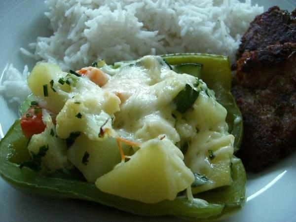 蔬菜鑲青椒