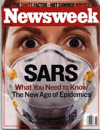 新SARS四成致死率遠高SARS的9.6%