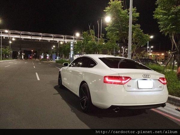 AUDI奧迪汽車A5 2.0 sportback二手車線上估價實例,AUDI奧迪汽車中古車行情及車輛介紹。