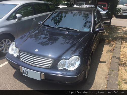 Mercedes-Benz賓士汽車 W203 C240二手車線上估價實例,Mercedes-Benz賓士汽車中古車行情及車輛介紹。