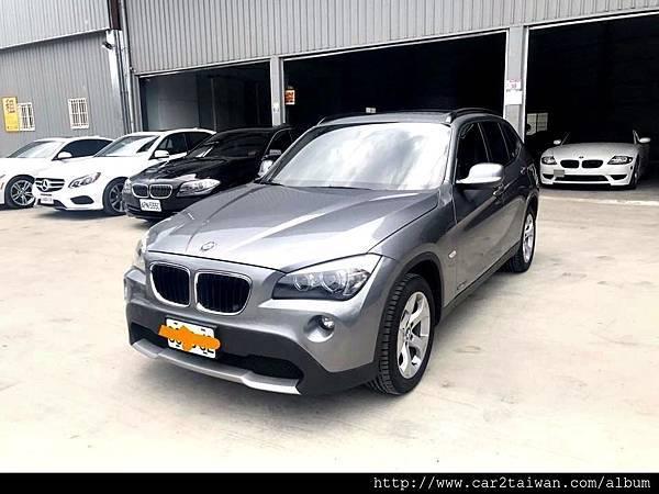 BMW寶馬汽車X1-20D二手車線上估價實例,BMW寶馬汽車中古車行情及車輛介紹。
