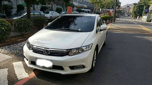 HONDA本田汽車2013 Civic 1.8 VTi-S 台北市中古車估價實例,HONDA本田汽車中古車行情及車輛介紹。