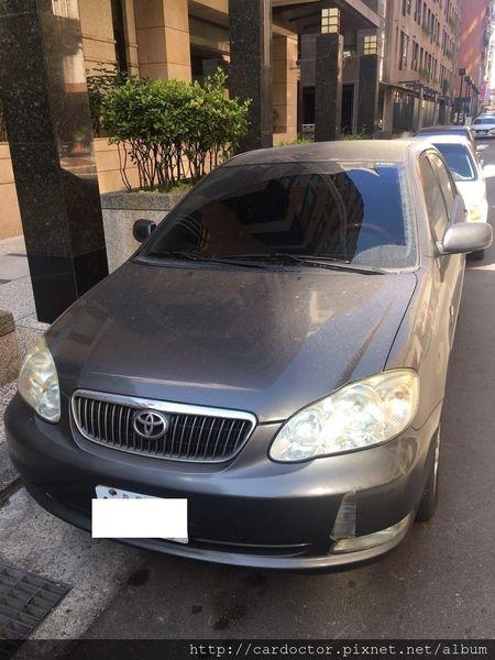 豐田TOYOTA 2006年 Altis 新竹市中古車估價實例,TOYOTA豐田中古車行情及車輛介紹。