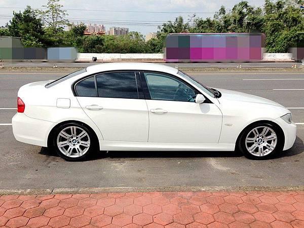 2008 BMW E90 323 台中市中古車估價實例,BMW中古車行情及車輛介紹。