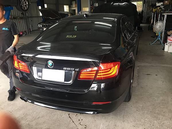 LA✩維修保養日誌 ,BMW 520D F10 保養。買賣外匯車推薦建議LA桃園車庫,買賣中古車估價推薦建議請找LA桃園車庫。