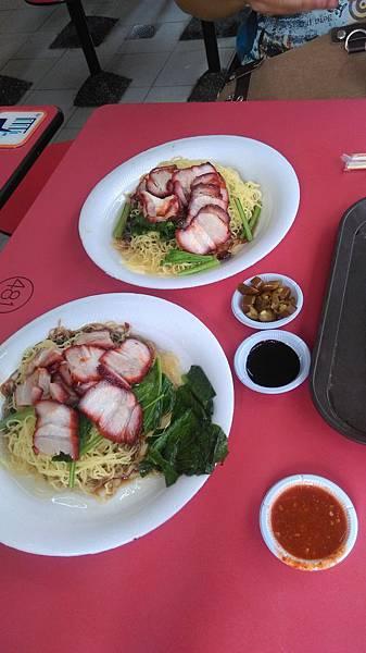 香港叉燒麵(激推)