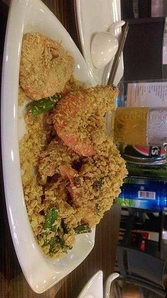 龍海鮮麥片蝦