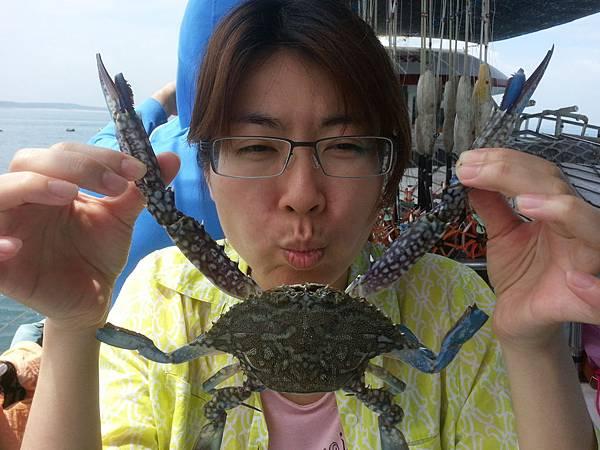 蟹-腳長手長的