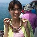 蟹-很有珍珠項鍊的fu