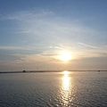 出發夜釣 看夕陽