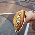 南蒲洞商圈賣的炸甜點 超好吃!