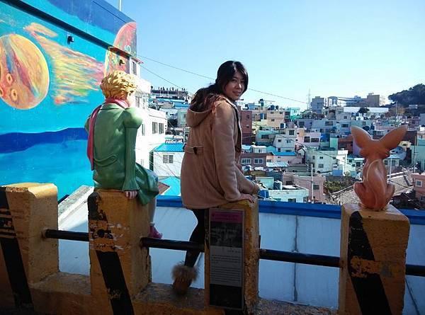 甘川文化村-我們搭公車去唷