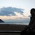 海雲台等日出