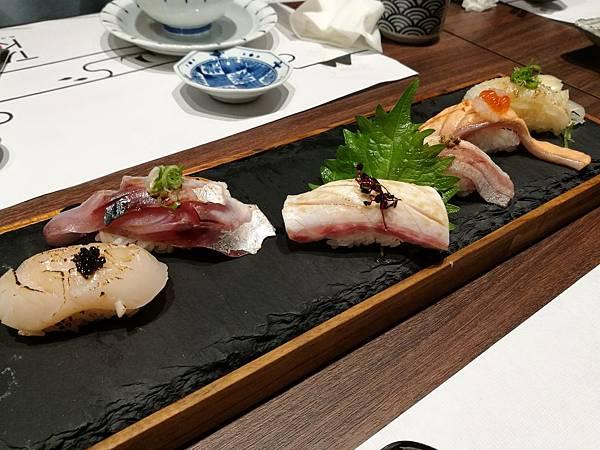 TAIKO赤沐和洋爐端燒-生魚片