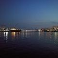 札嘎其大樓後方港口夜景2