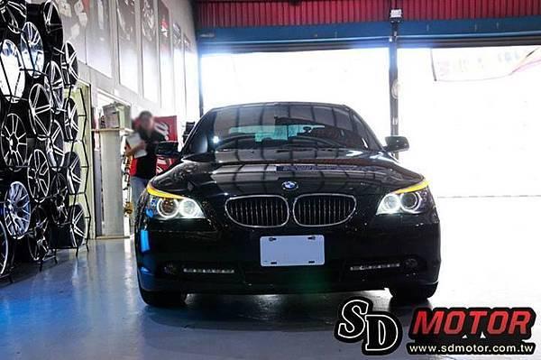 BMW E60 安裝5W光圈1