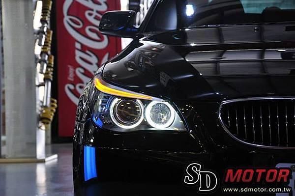 BMW E60 安裝5W光圈2