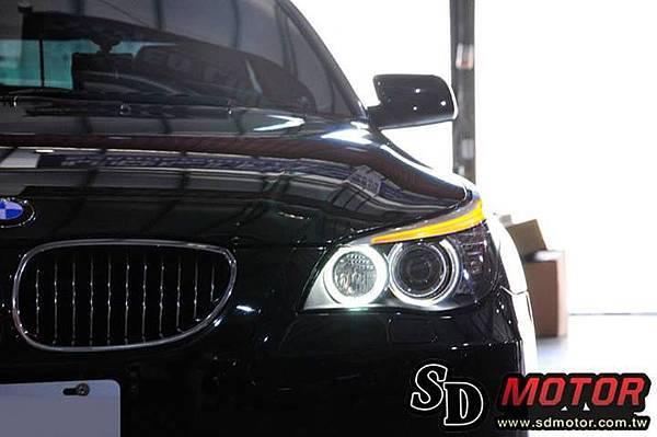 BMW E60 安裝5W光圈3