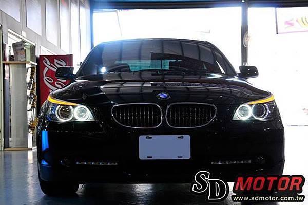BMW E60 安裝5W光圈4
