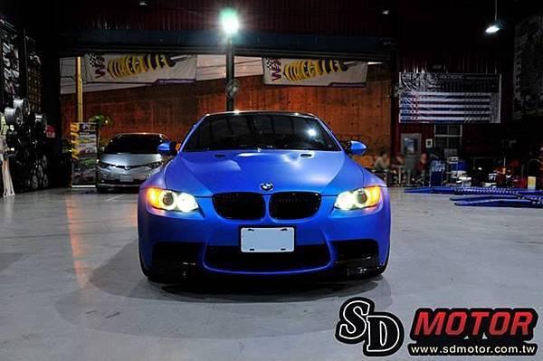 BMW E92 安裝10W光圈/天使眼 絕美閃耀1