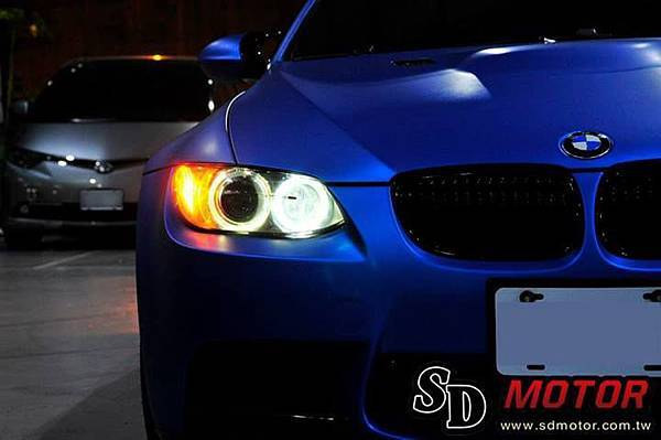 BMW E92 安裝10W光圈/天使眼 絕美閃耀2