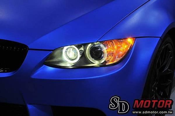 BMW E92 安裝10W光圈/天使眼 絕美閃耀4