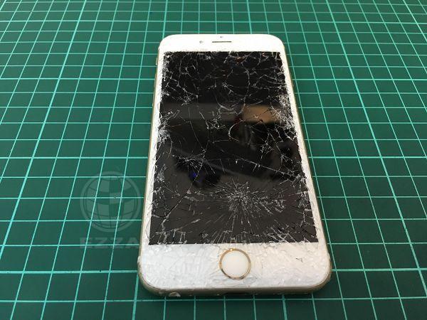 iphone6s 面板破裂
